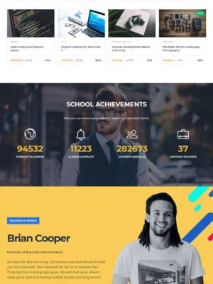 Escuela o cursos online  E-learnig